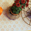 Button Stamp Table Runner