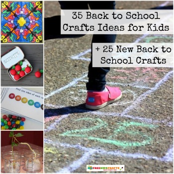 35 Back to School Crafts Ideas for Kids + 25 New Back to School Crafts