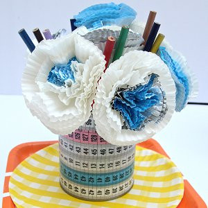Cupcake Liner Teacher Appreciation Bouquet