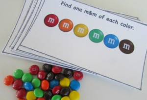 Printable M&M Pattern Game