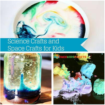 35 Science Crafts and Space Crafts