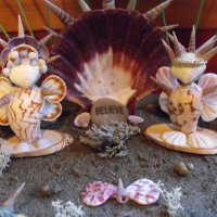 34 summer outdoor activities and camp crafts for kids for Seashell crafts for adults