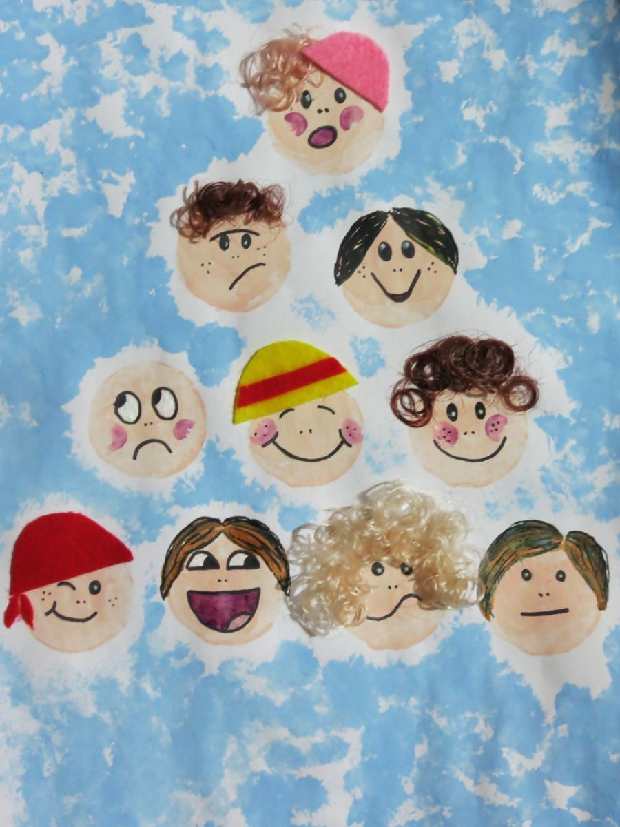 5 easy art projects for kids for Family arts and crafts