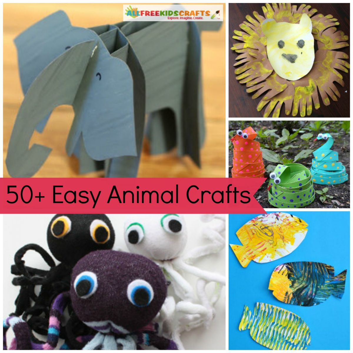 61 preschool animal crafts and more for Farm animal crafts for preschool