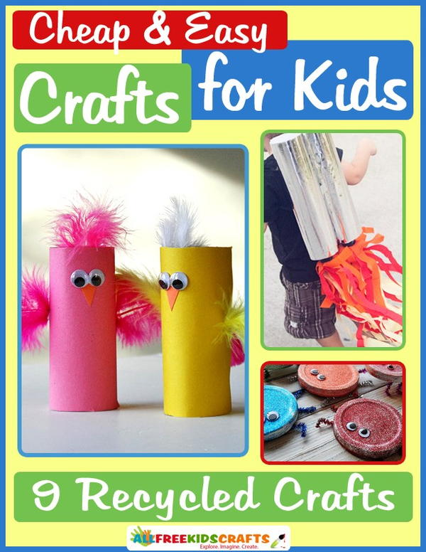 Cheap and Easy Crafts for Kids eBook