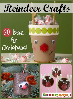 Christmas Crafts for Kids: 20 Reindeer Crafts