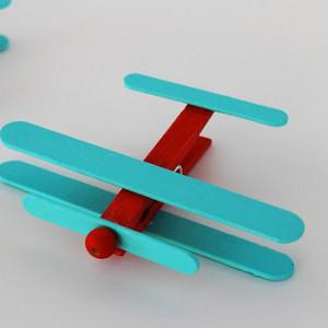 Clothespin Airplanes Allfreekidscrafts Com