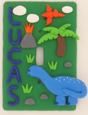 Dino Light Switch Cover