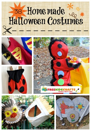 38 Homemade Halloween Costumes: Easy Costumes for Kids