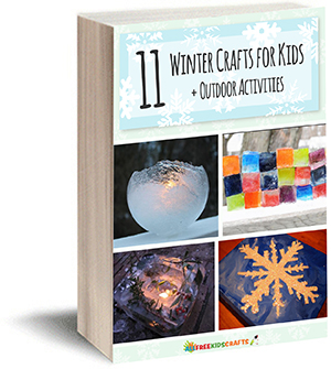 11 Winter Crafts for Kids eBook