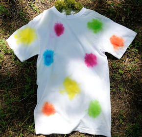 Lots o Dots Tie Dye Shirt