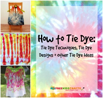 How to Tie Dye: 14 Tie Dye Techniques, Tie Dye Designs + Other Tie Dye Ideas