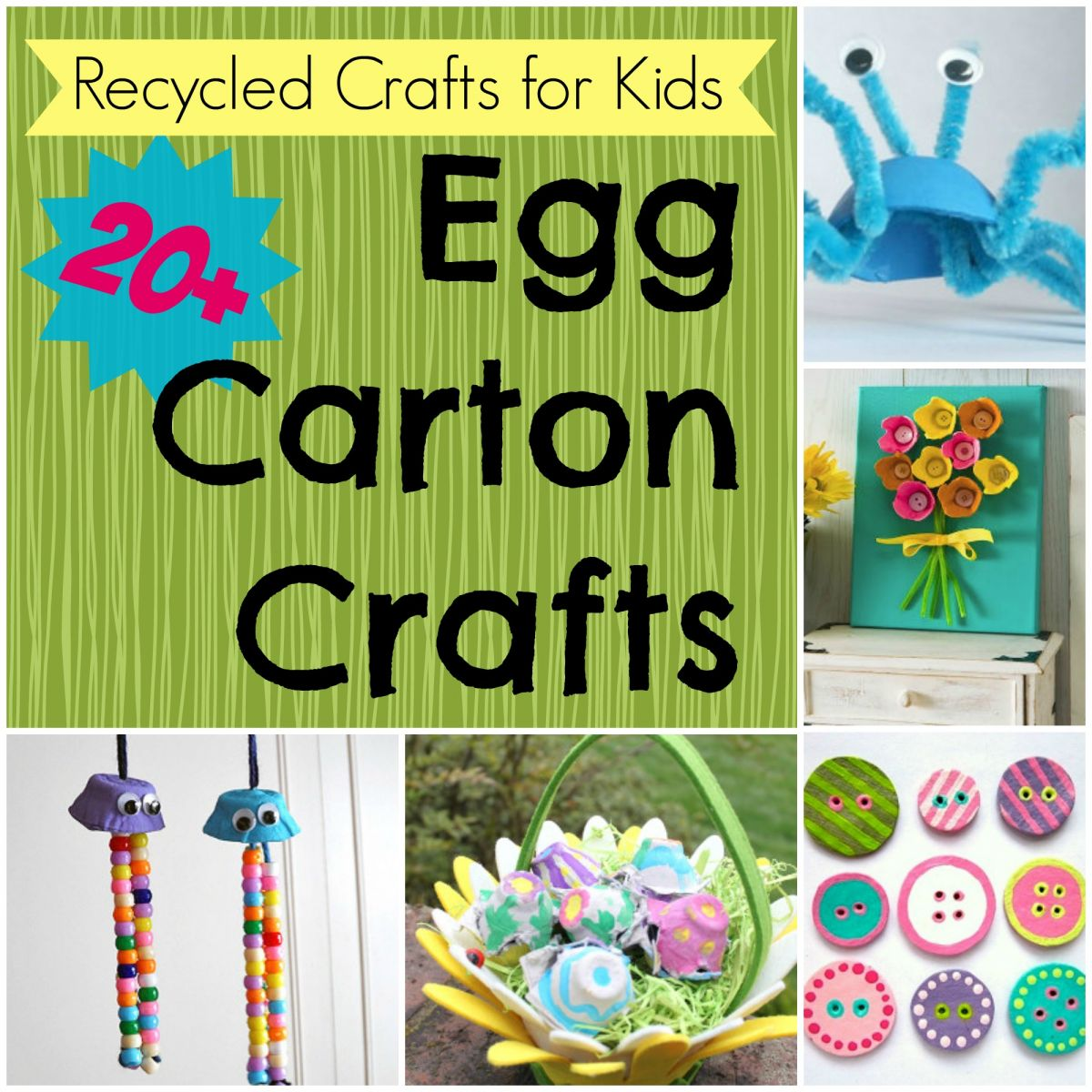 Recycled crafts for kids 33 carton crafts for Recycling ideas for kids