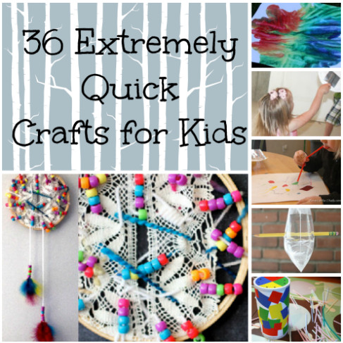 46 Quick And Easy Art Projects Other Boredom Busters