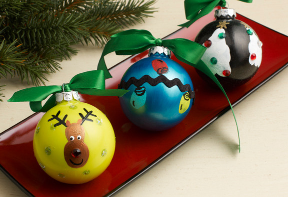 Fingerprint Homemade Christmas Ornaments ...