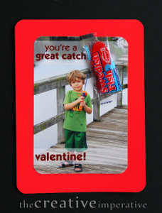 Fishy Photo Valentine Cards